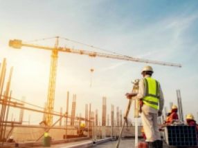 Confiança do empresário da construção atinge maior nível desde 2014
